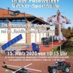 Absage! Hallen-Modellbau- u. Flugshow 2020 wegen COVID19