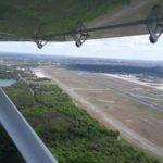 UL-Abschiedsflug zum Flughafen Tegel